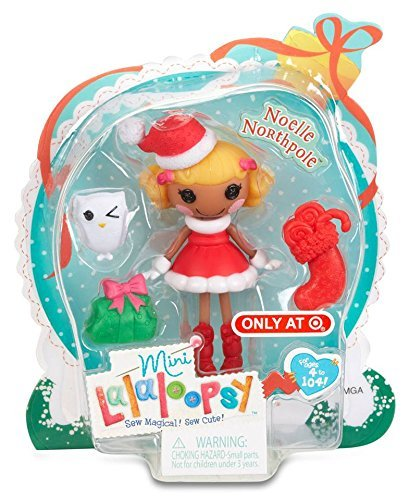 Christmas Holiday Exclusive Mini Noelle Northpole, Christmas Playset MINIS Pumpkin Friends Exclusive Barbie Doll SpellsALot N Fluffy Target Mini.., By Lalaloopsy