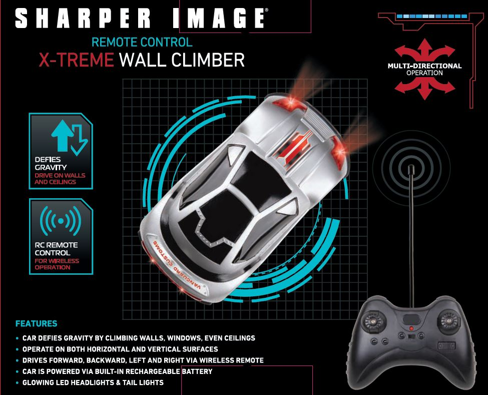 Remote Control Extreme Wall Climber