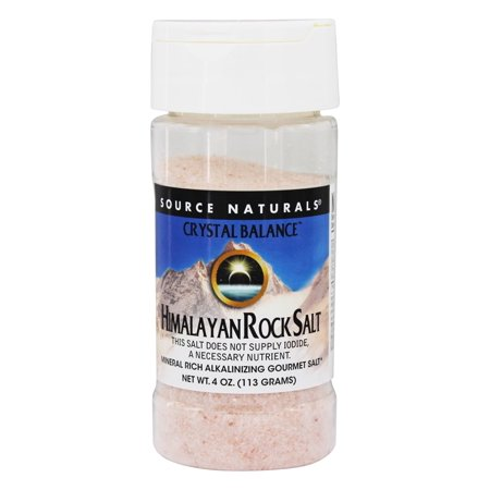 Source Naturals - Himalayan Rock Salt Crystal Balance - 4 oz. - Himalayan Salt Rocks