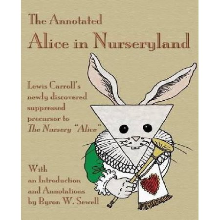 The Annotated Alice In Nurseryland  Lewis Carrolls Newly Discovered Suppressed Precursor To The Nursery Alice