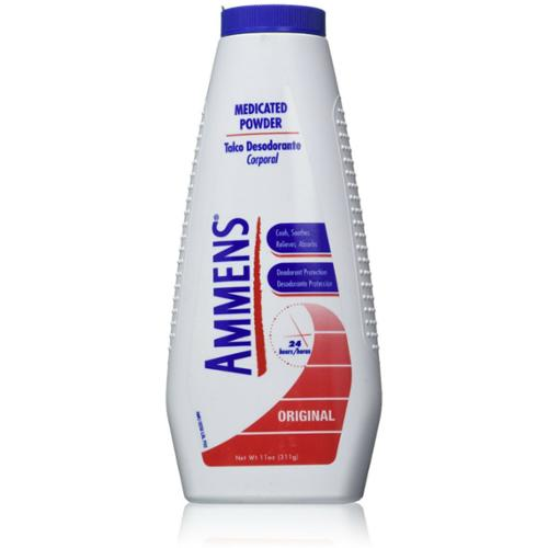 Ammens Medicated Powder Original 11 oz (Pack of 3)