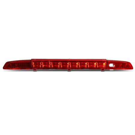 For 1993 to 1995 Nissan Pathfinder WD21 High Mount LED 3rd Third Tail Brake Light Rear Stop Lamp Red Housing 94 93 95