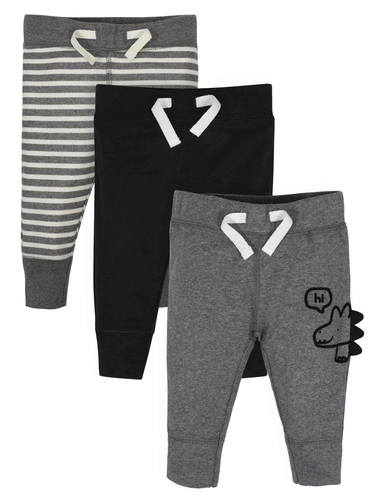 GERBER Baby Boys 2-Pack Pants