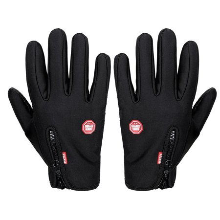Unisex Ski Gloves Snowboard Gloves Motorcycling Touchscreen Winter Snow Windstopper Outdoor Riding Non-Waterproof Gloves - image 1 of 10