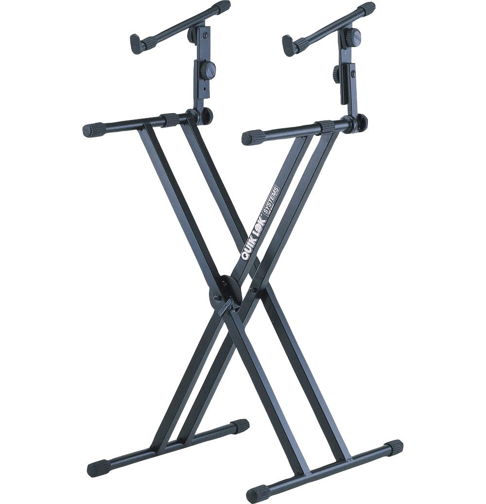 Quik-Lok Two Tier Heavy Duty X Keyboard Stand by Quik-Lok