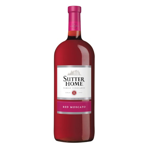 Sutter Home Red Moscato Wine, 1.5 l