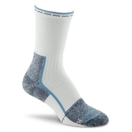 Fox River Her Steel-Toe Women`s  Lightweight Crew Socks, Large, Indigo Fox River Athletic Toe Socks