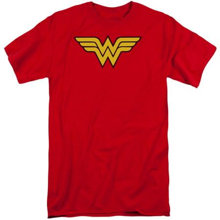 Dc Comics Wonder Woman Logo Mens Big And Tall Shirt