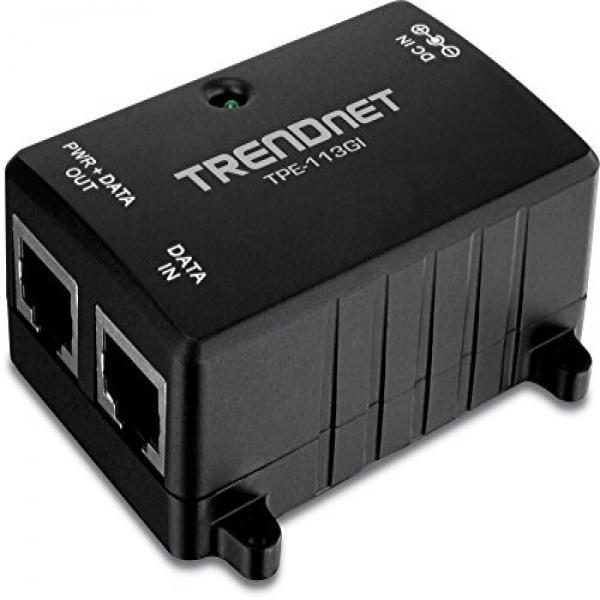 TRENDnet Gigabit Power over Ethernet (PoE) Injector TPE-113GI