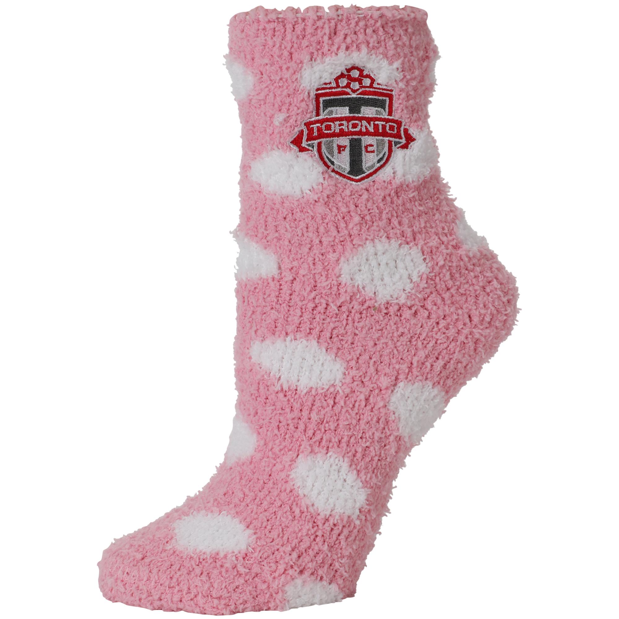 Toronto FC ZooZatz Women's Fuzzy Socks - No Size