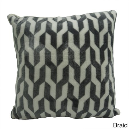 UPC 40 Northpoint Home Etoile Printed Velvet Berber Cool Etoile Throw Blanket