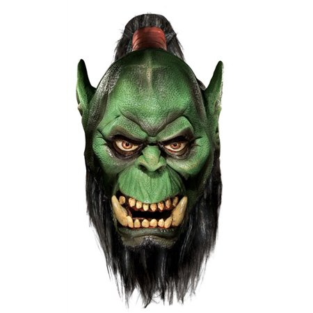 World of Warcaft Orc Adult Halloween Latex - Orc Mask