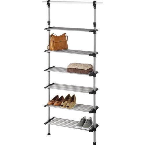 Whitmor Closet 6 Shelf Shoe Rack System