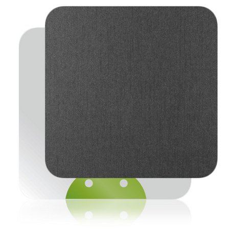 Skinomi Brushed Steel TV Streamer Player Skin for Pivos XIOS DS Media Play