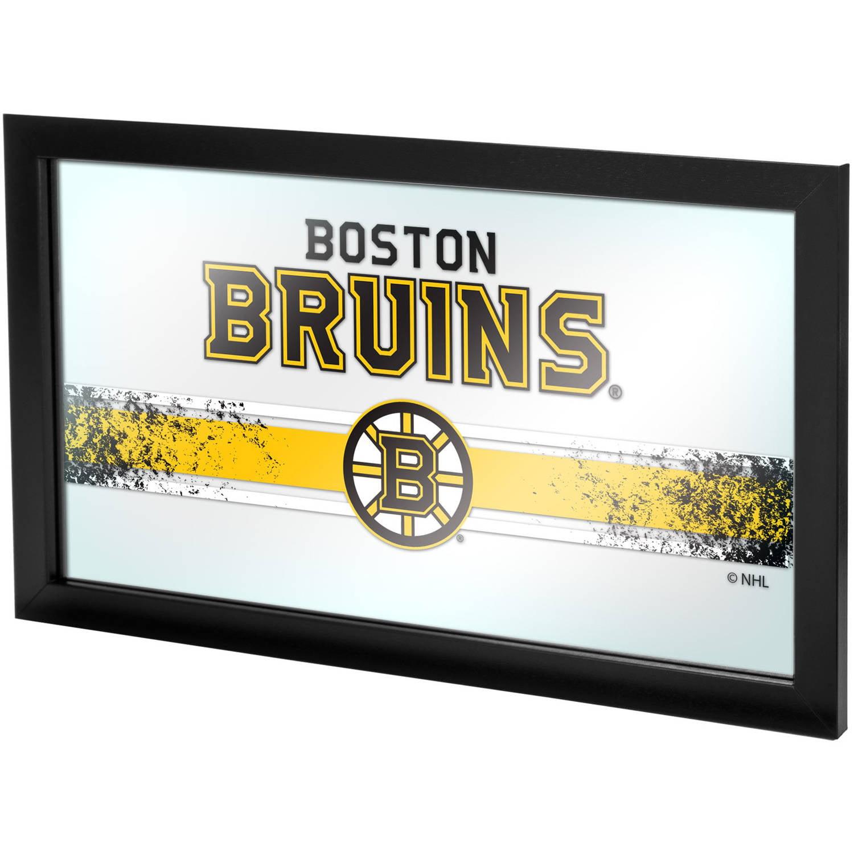 NHL Framed Logo Mirror, Boston Bruins