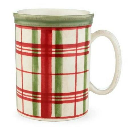 Lenox Holiday Gatherings Plaid Mug (Lenox Holiday Coffee)