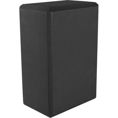 """Yoga 4"""" blocs de mousse (jeu de deux) 4"""" x 6"""" x 9""""  noir ensemble de deux"""