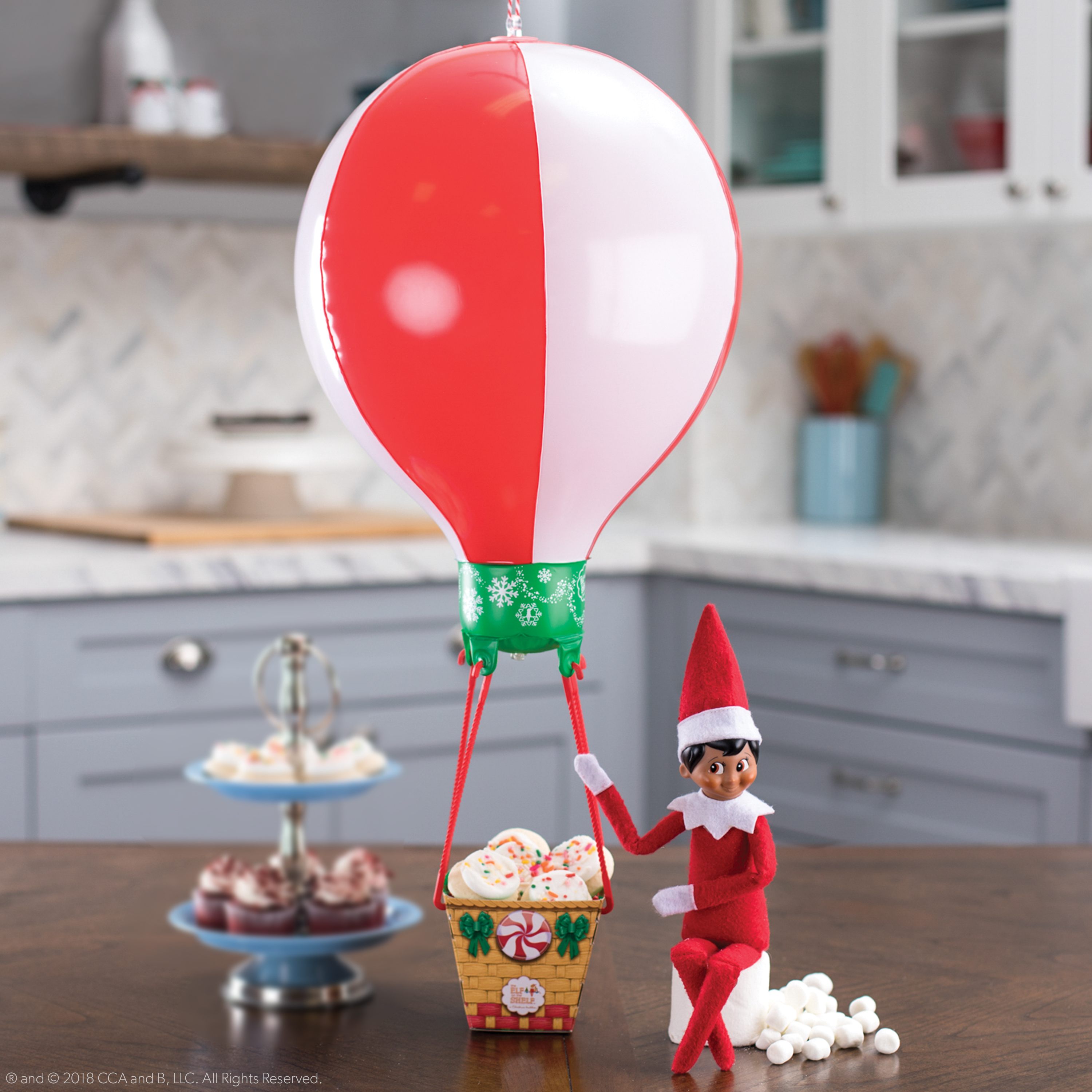 Scout Elves at Play Balloon Ride