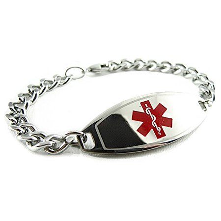 Myiddr Bariatric Surgery Medical Bracelet Pre Engraved