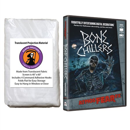 AtmosfearFX Bone Chillers Halloween DVD + Reaper Bros? 60