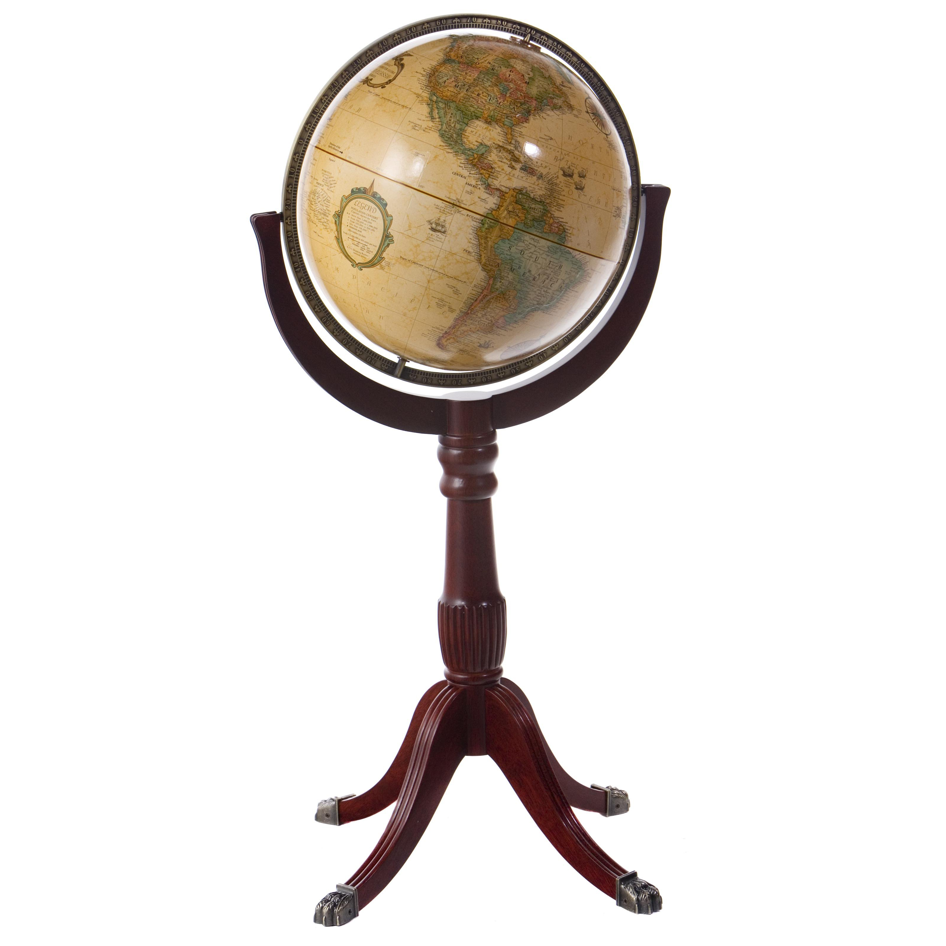 Replogle Sherbrooke II 16-in. Diam. Floor Globe by Replogle Globes