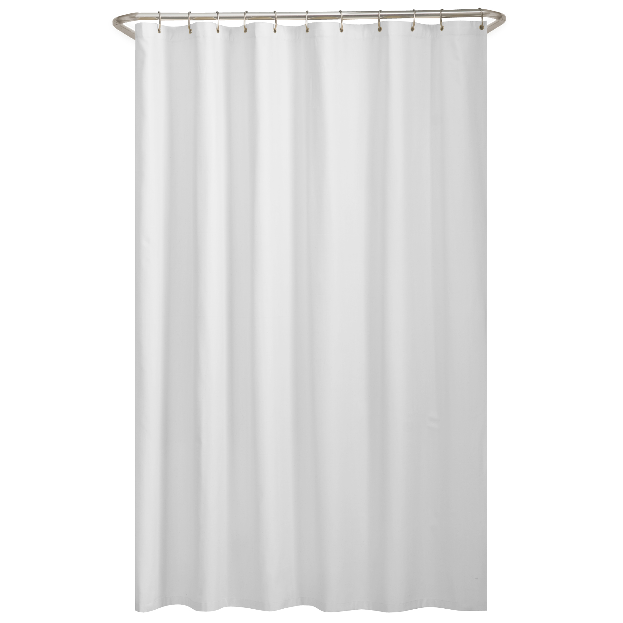 Mainstays Water Repellent Fabric Shower Curtain Or Liner 72 X 70