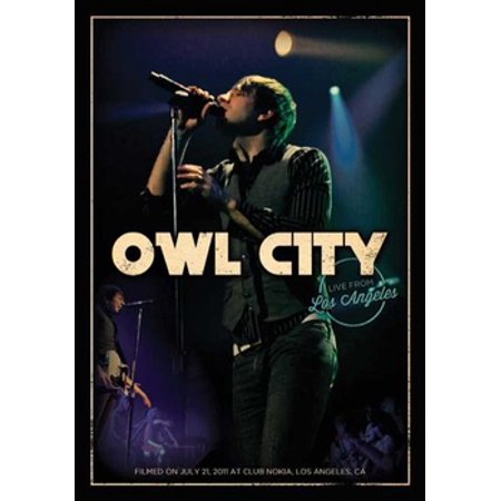 OWL CITY-LIVE FROM LOS ANGELES (DVD) (DVD) - Halloween Festival 2017 Los Angeles