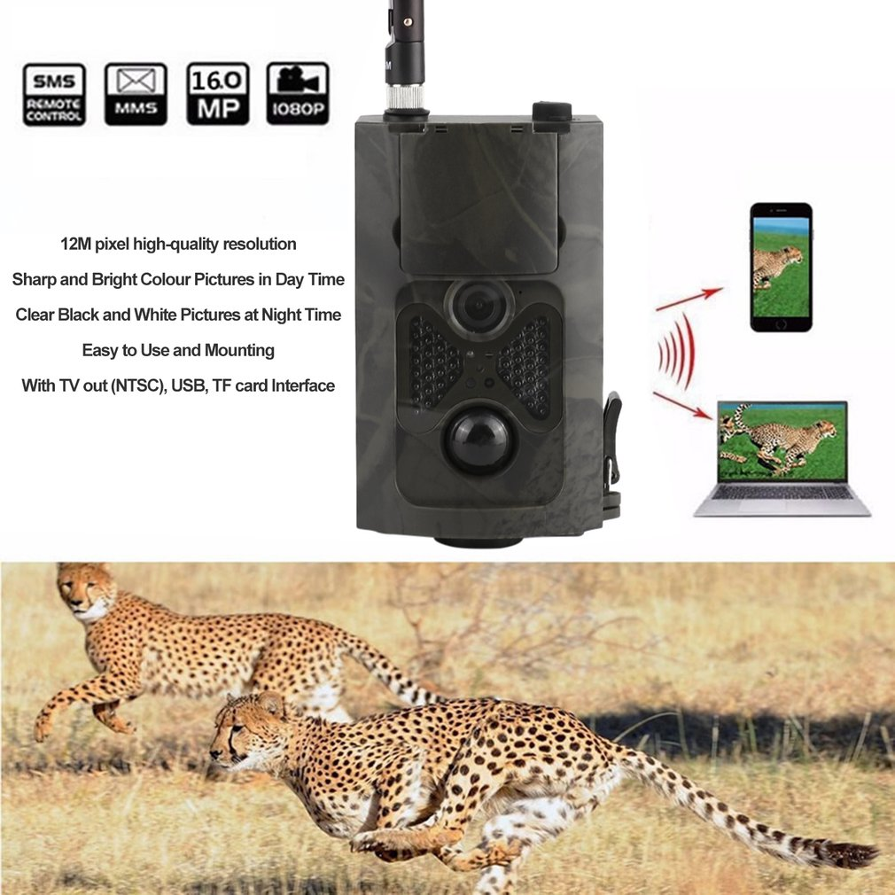 Wireless Hunting Cameras 500M HD 1080P GSM MMS GPRS SMS C...