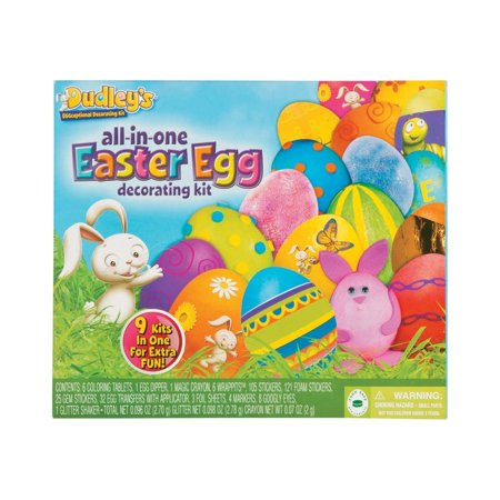 Decorated Easter Eggs (Dudley's® All-In-One Easter Egg Decorating)