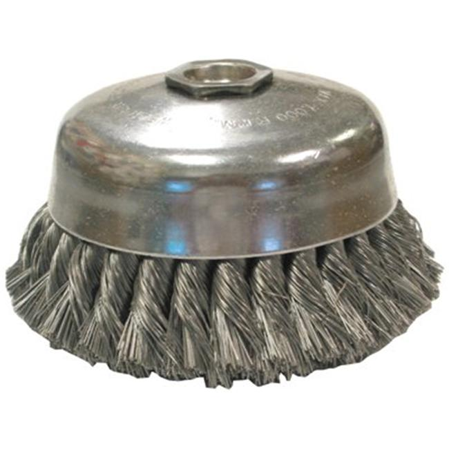 Anderson Brush 066-17255 Us4 . 014X4 Inchx1-1-4 Inch Cup Brush Carbon Sing