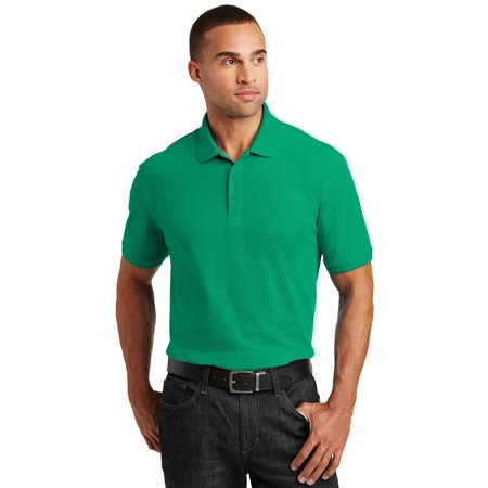 Mens Climacool Pique Polo Shirt - Port Authority Men's Core Classic Pique Polo Shirt