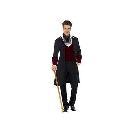 Gothic Male Vamp Costume 21323 Smiffy's Multi Color - Vamps 2017 Halloween