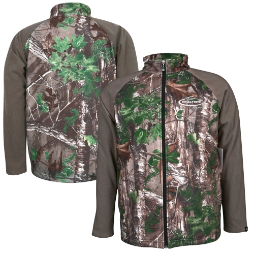 NASCAR Realtree Xtra Green Fleece Jacket - Camo