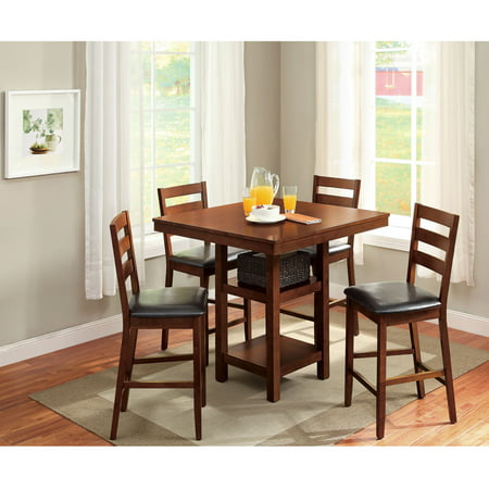 Better Homes & Gardens Dalton Park 5-Piece Counter Height Dining (Jofran 7 Piece Counter)