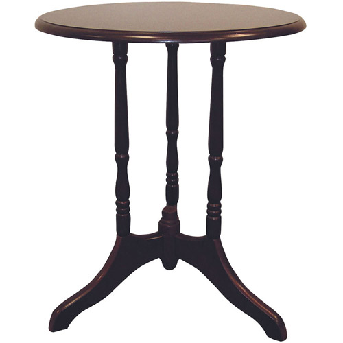 """Ore International 23"""" Cherry Round End Table"""