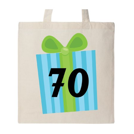 70th Birthday Gift Tote Bag