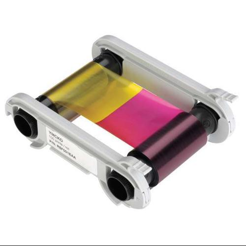 EVOLIS R6F003AAA Multi Color Ribbon, 200 Cards Per Roll