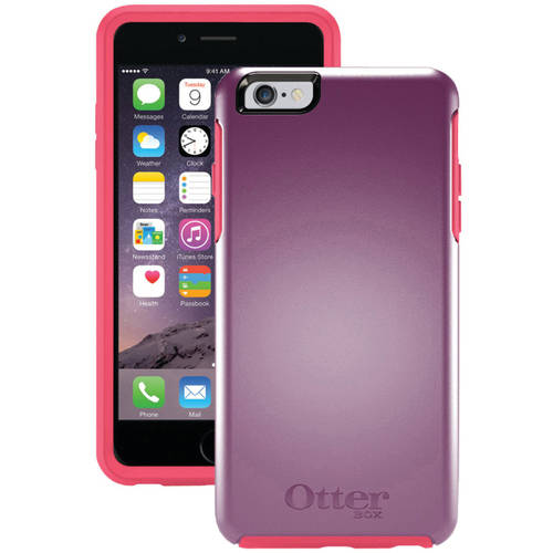 New in Box OEM OtterBox Symmetry Series Black Case For iPhone 6 Plus/6s Plus