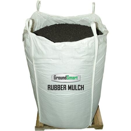 - GroundSmart™ Espresso Black Rubber Mulch 38.5 cu ft super sack