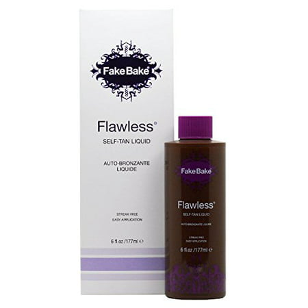Fake Bake Flawless Self Tanner Liquid, 6 Oz
