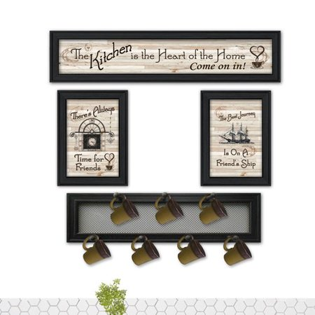 August Grove 4 Piece Kitchen Collection Vi Wall D Cor Set
