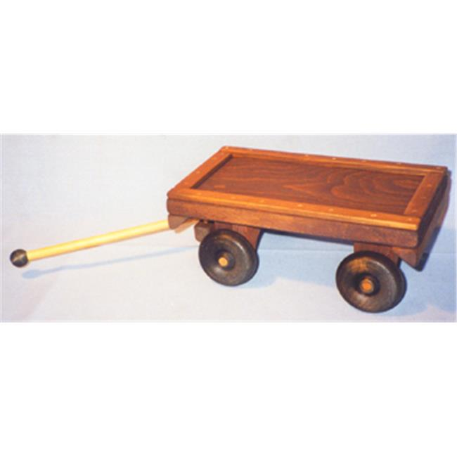 THE PUZZLE-MAN TOYS W-2030 Wooden Play Farm Series Accessories Wagon by