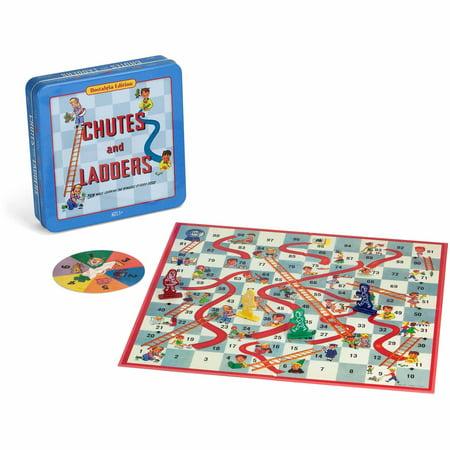 Chutes   Ladders Board Game Nostalgia Edition Game Tin