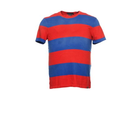 2e7167ead3e4 Ralph Lauren - Polo by Ralph Lauren Multi-Color Wide Horizontal Striped T-Shirt  Tee Shirt