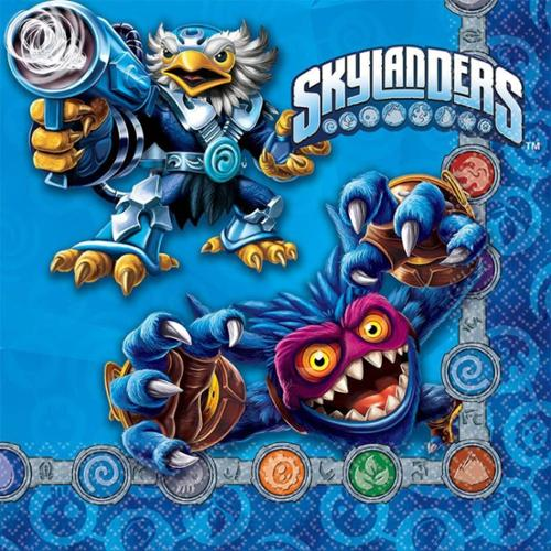 Skylanders Luncheon Napkins (16 Pack) - Party Supplies