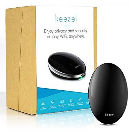 Keezel Portable VPN Security Device AD Blocking & Anti-Phishing Encryption