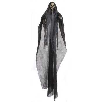 7' ft Hanging Grim Reaper Skeleton Halloween Haunted House Decoration Prop](Homemade Halloween Skeleton Decoration)