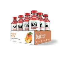 Bai Antioxidant Infused Beverage, Panama Peach, 18 Fl Oz, 12 Count