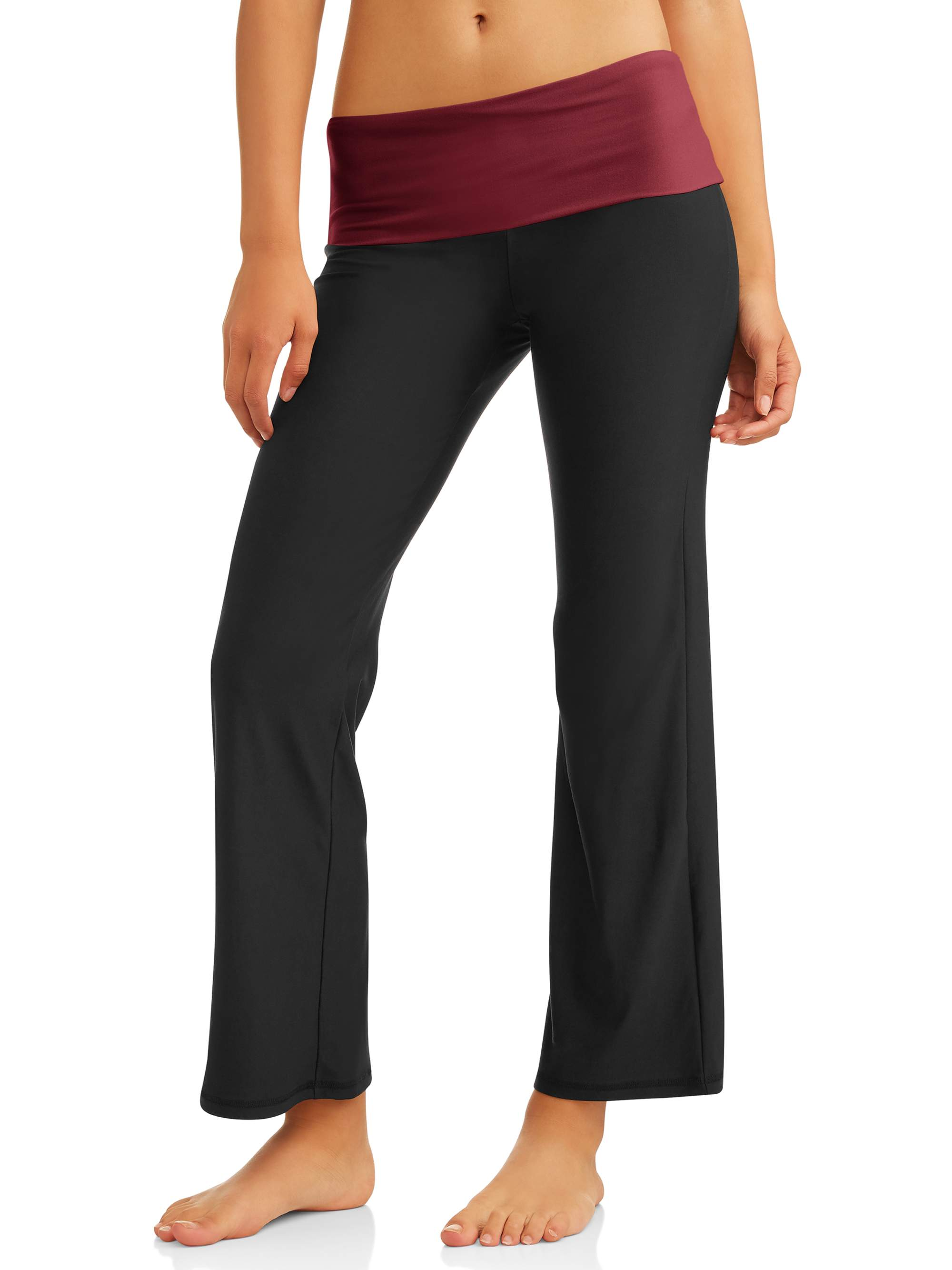 No Boundaries Juniors' Flare Yoga Pants (Prints & Solids)