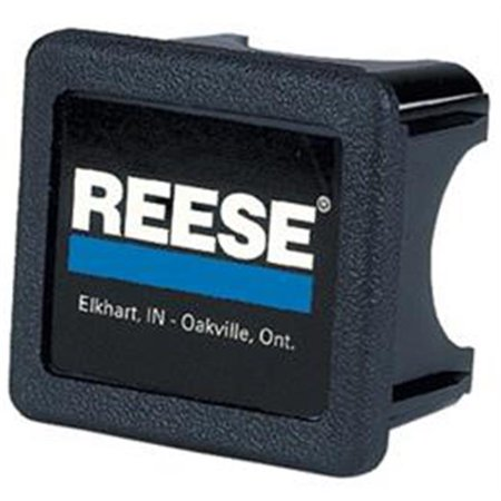 Reese 74547 Trailer Hitch Cover Receiver Plug - Black, Blue, White